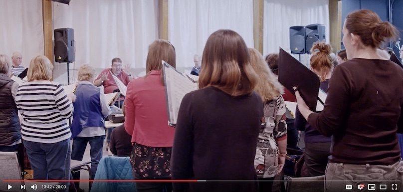 extrait emission Capital_humain de TVSO avec Choeur des Gondoliers visuel via chaine YouTube TVSO