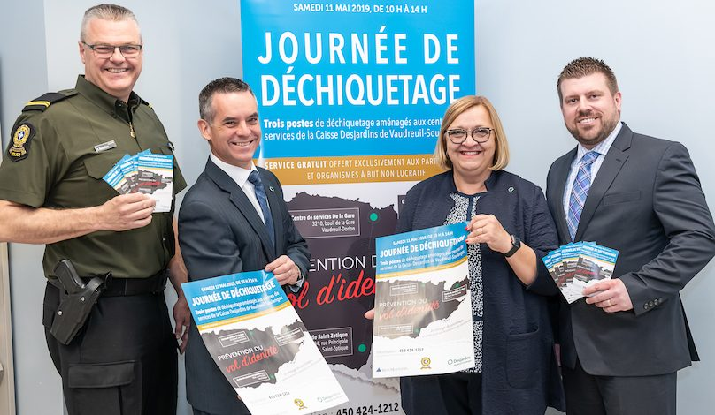 partenaires campagne prevention vol d_identite Vaudreuil-Soulanges photo via Caisse Desjardins VS