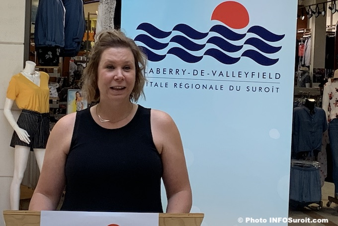 Annie_Jalbert-Desforges Ville Valleyfield juin2019 photo INFOSuroit