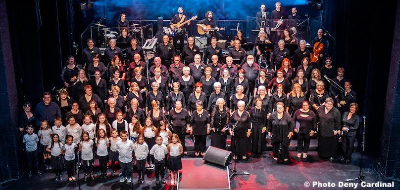 Choeur des Gondoliers chorale enfants et musiciens spectacle 50 ans du Choeur photo Deny_Cardinal via CG