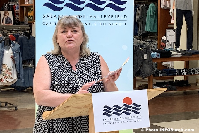 Claire_Melancon directrice CAB Valleyfield juin 2019 photo INFOSuroit