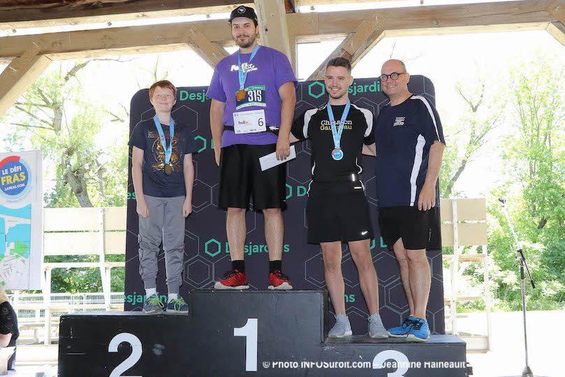 Defi_FRAS 2019 podium 1km 12 ans et plus H avec depute CReid photo JH INFOSuroit