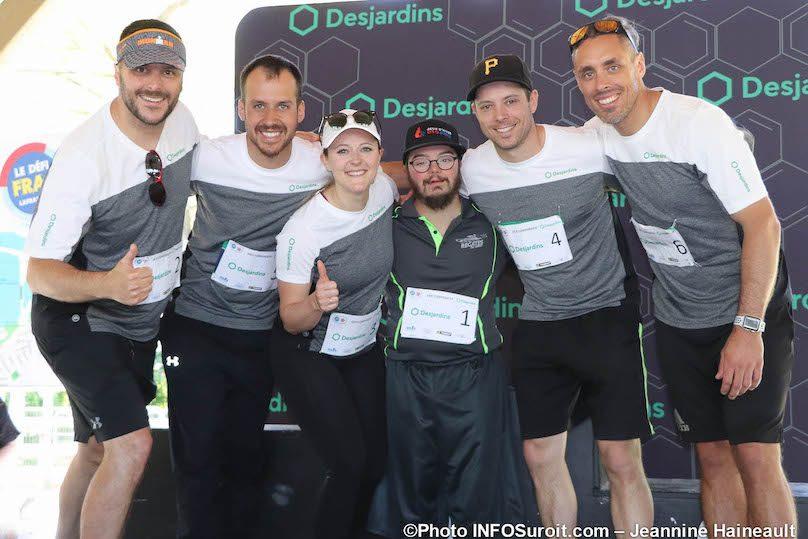 Defi_FRAS 2019 volet defi Corporatif equipe Desjardins photo JH INFOSuroit