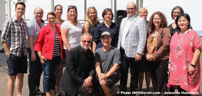 Fete Gourmande 2019 elus Beauharnois organisateurs et partenaires photo JH INFOSuroit