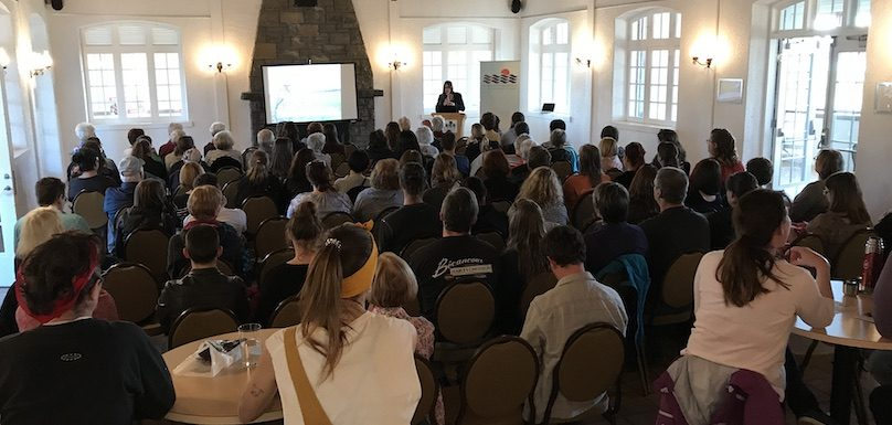 Rendez-vous citoyens 2019 conference Equiterre Manger_ecolo photo courtoisie SdV