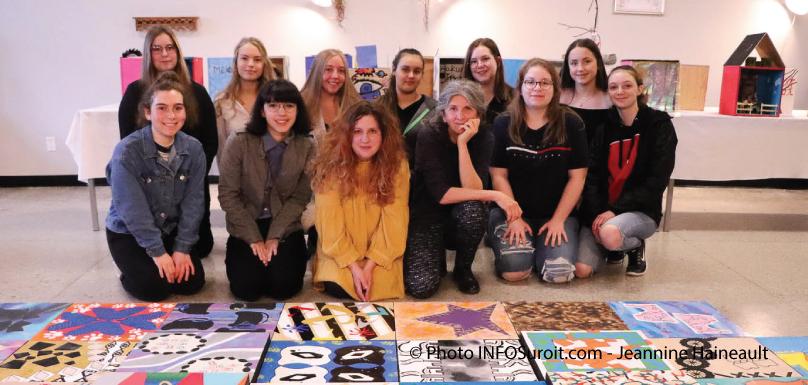 artistes-vernissage-csvt-Arthur-Pigeon-Patriotes-Beauharnois-photo-JHaineault-infosuroit