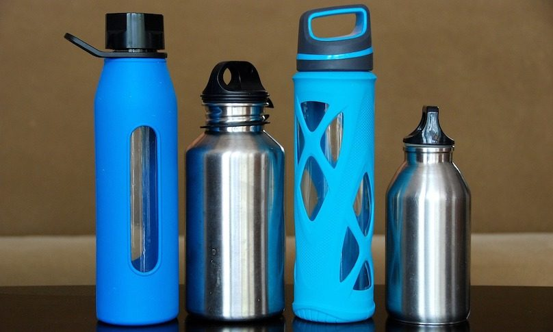 bouteilles reutilisables ecologique photo Evitaochel via Pixabay et INFOSuroit