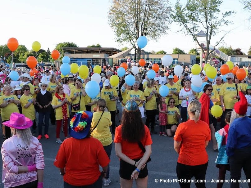 cancer relais pour la vie Beauharnois 2019 ceremonie ballons photo JH INFOSuroit