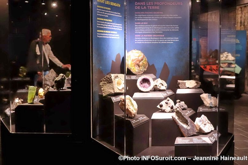 expo Mineraux a Pointe-du-Buisson musee Photo JH INFOSuroit