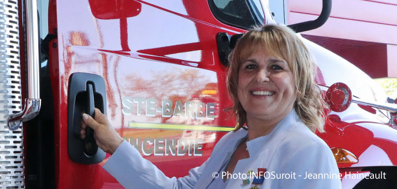 louise-lebrun-mairesse-sainte-barbe-inauguration-caserne-pompier-photo-JHaineault-infosuroit