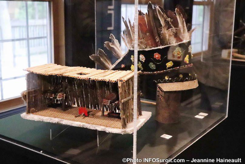 maquettes expo Objets de memoire Pointe-du-Buisson photo JH INFOSuroit