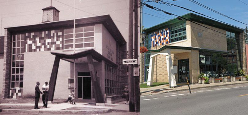 25 ans fusion Vaudreuil et Dorion 190 St-Charles hier et aujourd_hui photos centre archives VS et BB Musee regional VS