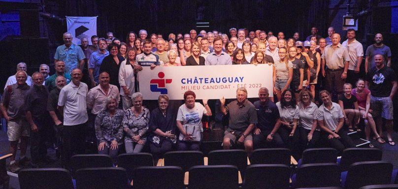 Chateauguay ville candidate pour Jeux du Qc 2022 juillet2019 photo via VC