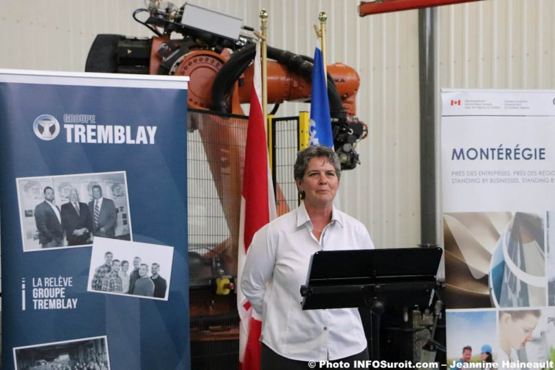 GComeau ingenieure directrice et associee Groupe Tremblay juil2019 photo JH INFOSuroit