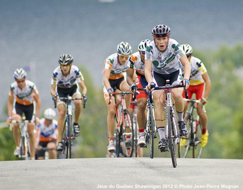 Jeux du Quebec Shawinigan 2012 epreuve velo Credit photo Jean-Pierre_Magnan via FlickR et CC