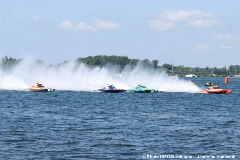 Regates Valleyfield 2019 course de qualification Hydro 350 photo JH INFOSuroit