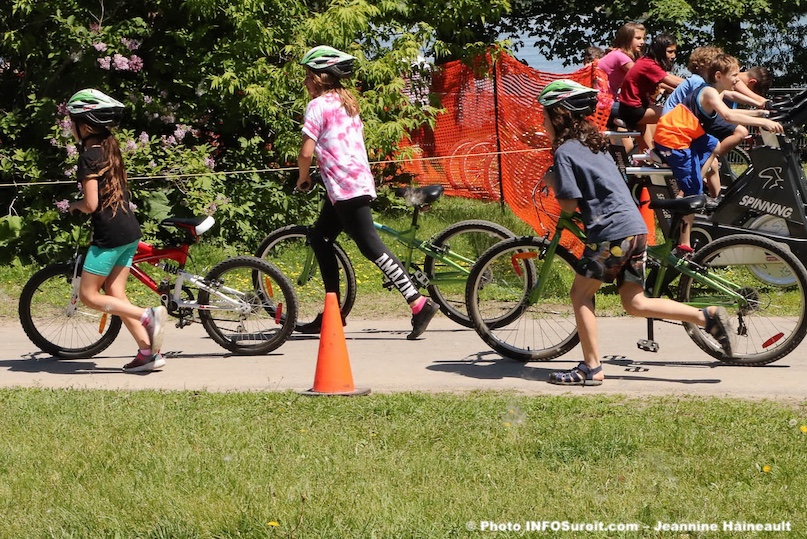Triathlon scolaire 2019 du Triathlon Valleyfield photo JHaineault INFOSuroit