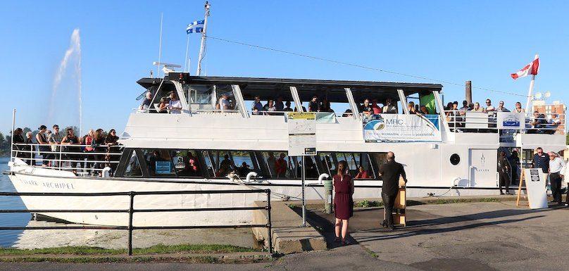 bateau Navark croisiere 2018 du Comite Zip HSL sur lac St-Francois photo courtoisie Comite ZIP HSL