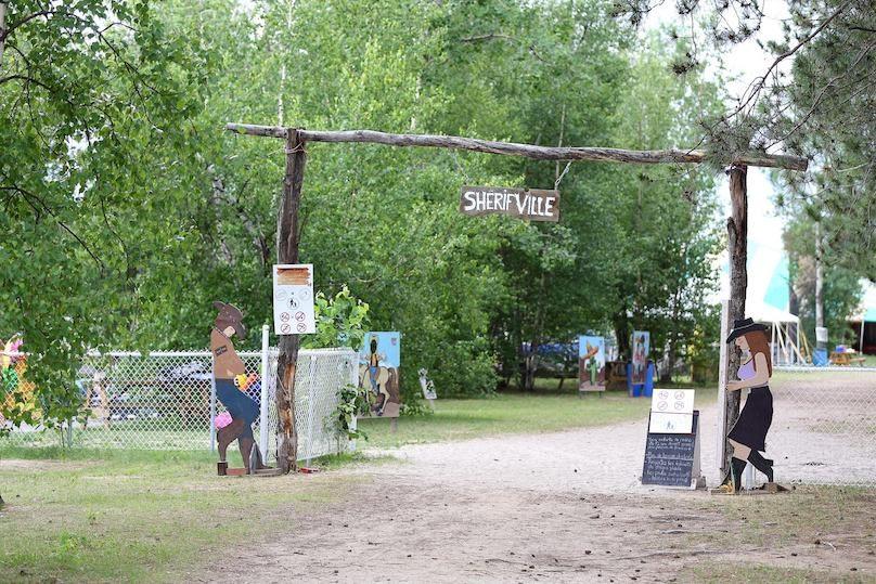 entree SherifVille Le Sablon Plage et Camping photo via Facebook