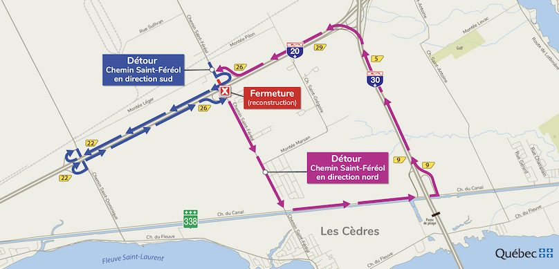 fermeture-autoroute-20-entre-A30-et-chemin-St-fereol-juil2019-carte-via-MTQ