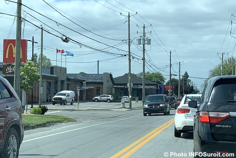 intersection chemin de la Beauce et boul Cadieux Beauharnois juil2019 photo INFOSuroit
