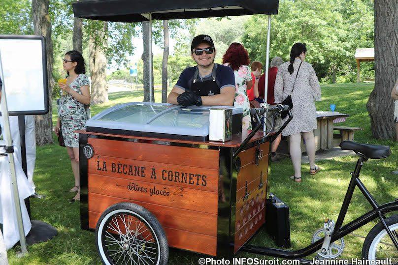 la Becane a cornets lancement saison touristique 2019 MRC Beauharnois-Salaberry photo JH INFOSuroit