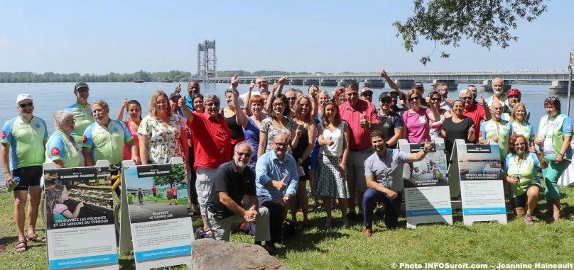 lancement 2019 saison touristique MRC Beauharnois-Salaberry a St-Louis-de-Gonzague juil2019 photo JH INFOSuroit