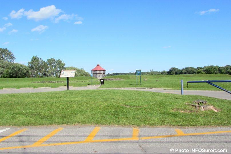 lieu historique national de Coteau-du-Lac Fort juil2015 photo INFOSuroit