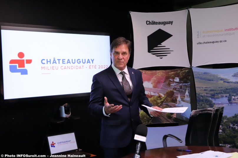 maire Chateauguay Pierre-Paul_Routhier jeux du Qc 18juil2019 photo JH INFOSuroit