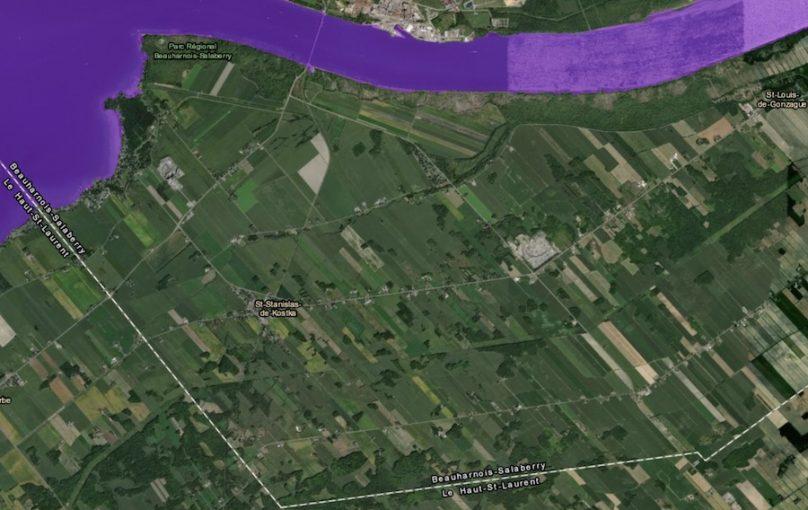zone intervention speciale carte 15juil2019 St-Stanislas-de-Kostka visuel courtoisie MAMH