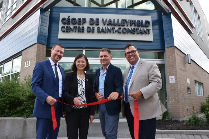 Cegep Valleyfield inauguration centre etudes collegiales Saint-Constant 22082019 photo ColVal