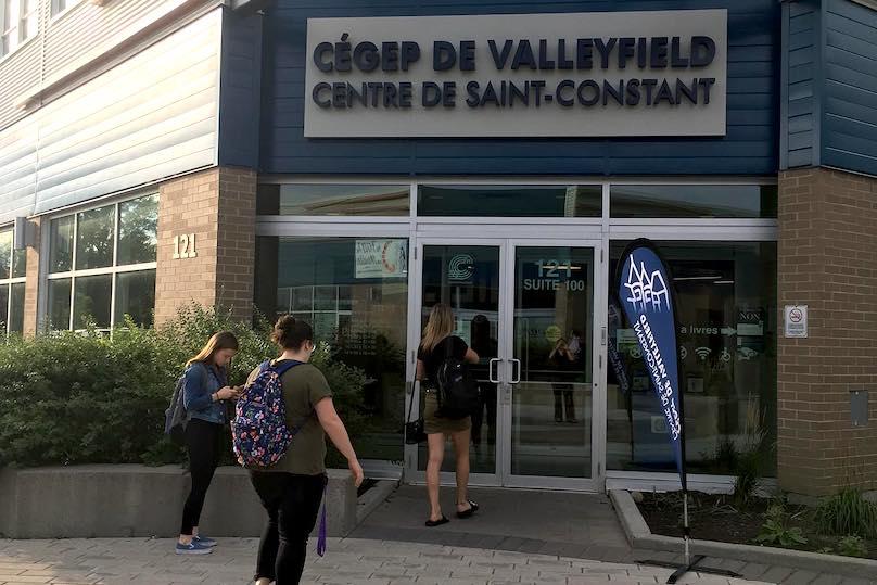 Cegep de Valleyfield centre Saint-Constant aout2019 photo via ColVal