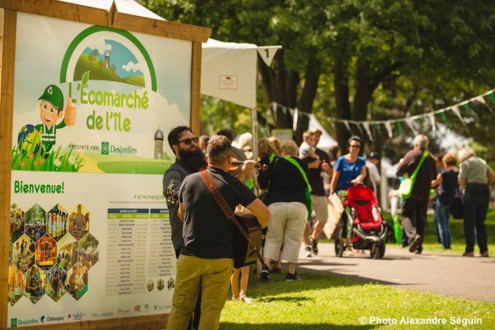 Ecomarche de l_ile a Chateauguay acces gratuit les 3jours en 2019 photo AlexandreSeguin via HSB