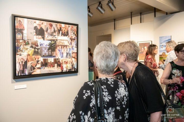 Expo du regroupement Traitdartiste photo art de capter via MRVS