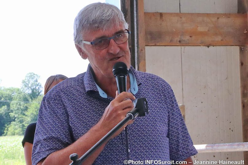 Louis-Marie_Leduc president UPA Vaudreuil-Soulanges aout2019 photo JH INFOSuroit