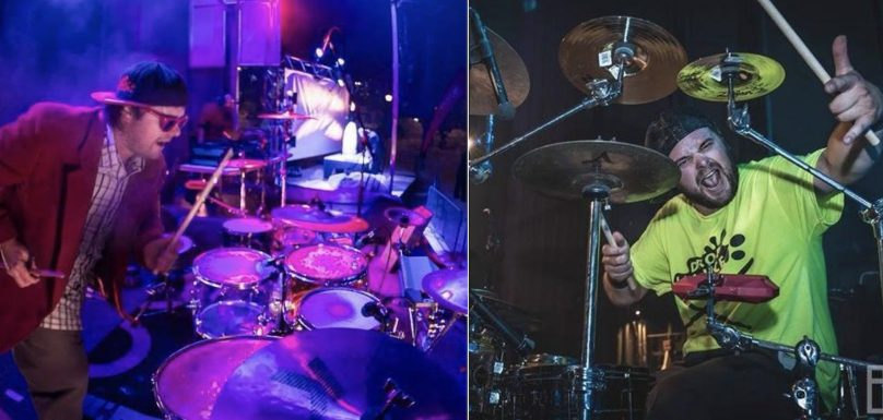 Tony_la_sauce spectacle drummer vs DJ photos courtoisie via tonylasauce_com