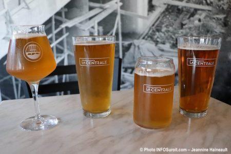 bieres lancement microbrasserie la Centrale a Beauharnois photo JH INFOSuroit