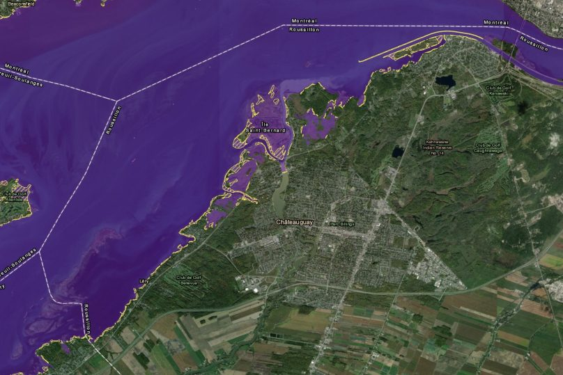 carte zone intervention speciale ZIS MAMH secteur Chateauguay 5aout2019 visuel courtoisie
