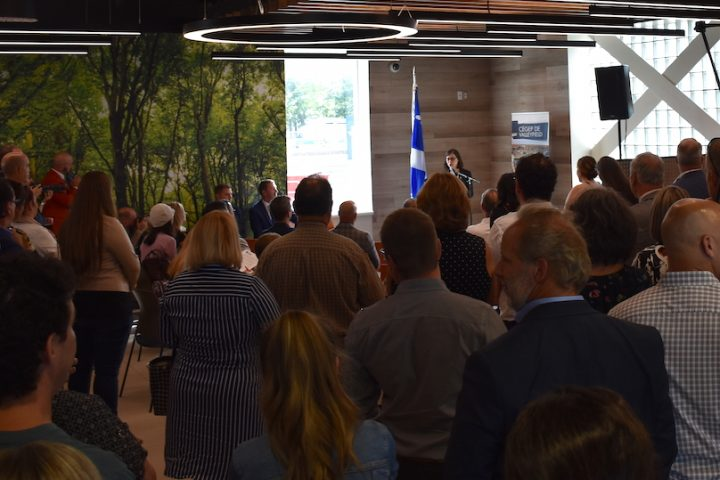 cegep de Valleyfield inauguration centre etudes Saint-Constant 22aout2019 photo via ColVal