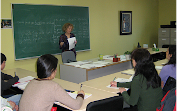 cours de francais au centre L_Insulaire photo courtoisie CFLI