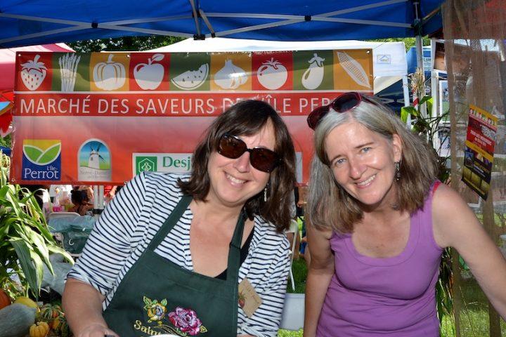 festival de la Soupe de Vaudreuil_Soulanges 2016 kiosque Marche des saveurs photo via NDIP