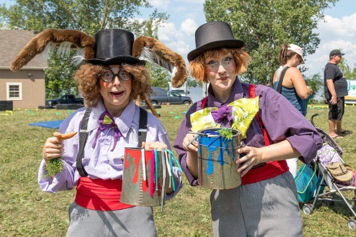 fete du citoyen 2018 clowns amuseurs publics photo Facebook Ville de Vaudreuil-Dorion