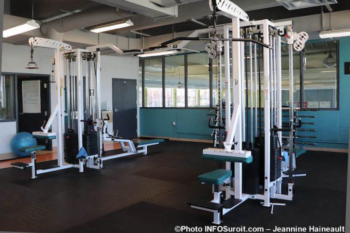 gym cite des arts et des sports Valleyfield appareil entrainement photo JH INFOSuroit