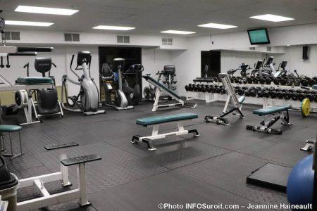 gym salle entrainement de la Cite des Arts et des Sports aout2019 photo JH INFOSuroit
