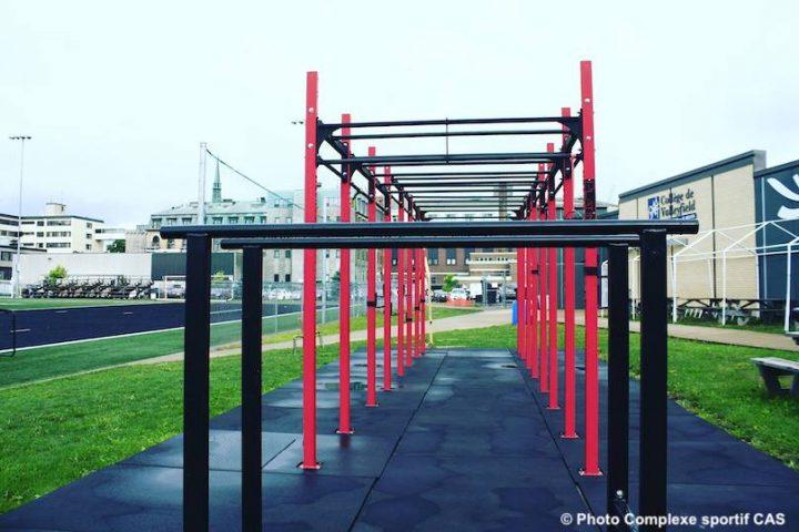 site exterieur entrainement complexe sportiof Cite des Arts et des Sports photro via CAS