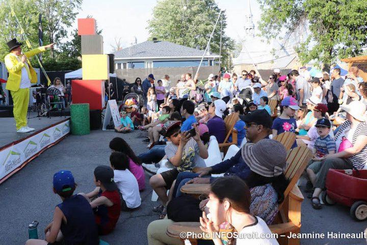 spectacle pour enfants et familles festival de Cirque Vaudreuil-Dorion 2019 photo JH INFOSuroit