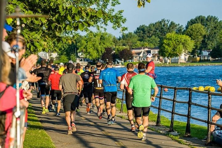 tourisme evenement Triathlon Valleyfield course parc Sauve photo via MRC