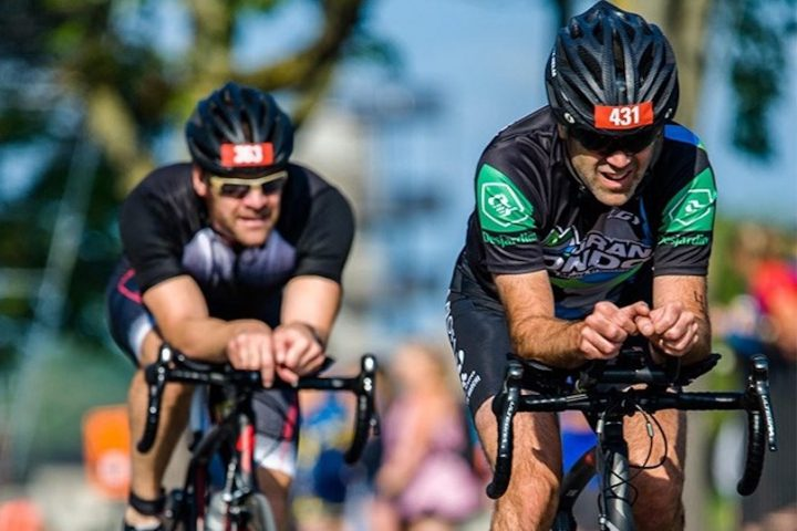 tourisme evenement Triathlon Valleyfield cyclistes velo photo via MRC