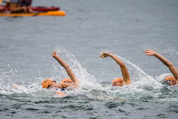 tourisme evenement Triathlon Valleyfield natation photo via MRC