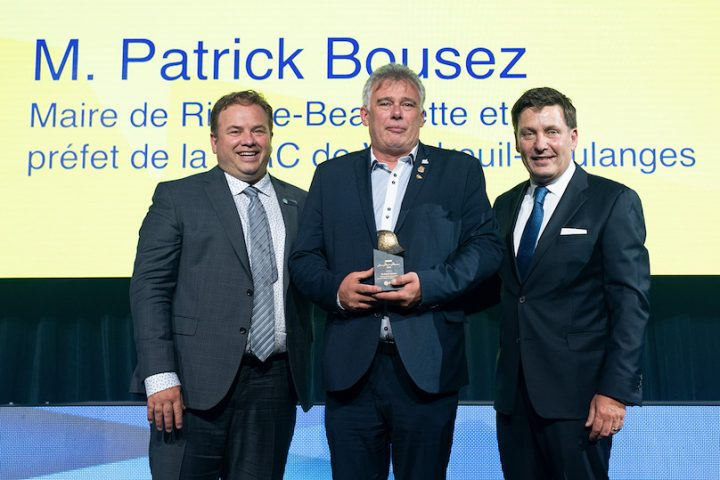JacquesDemers PatrickBousez et PierreMoreau remise Prix Jean-Marie-Moreau 2019 photo courtoisie MRC